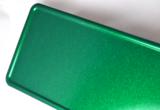 glitterplaat groen