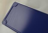 naambord donkerblauw