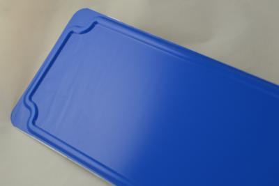 naambord blauw