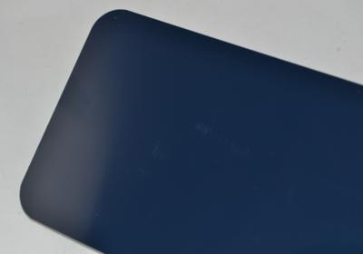 Naamplaat Amerikaans donkerblauw