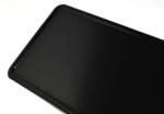 zwarte naamplaat