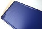 naamplaat donkerblauw