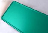 kentekenplaat groen reflecterend
