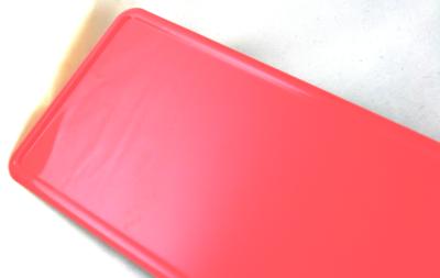 naamplaat licht roze