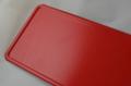 glitterplaat rood